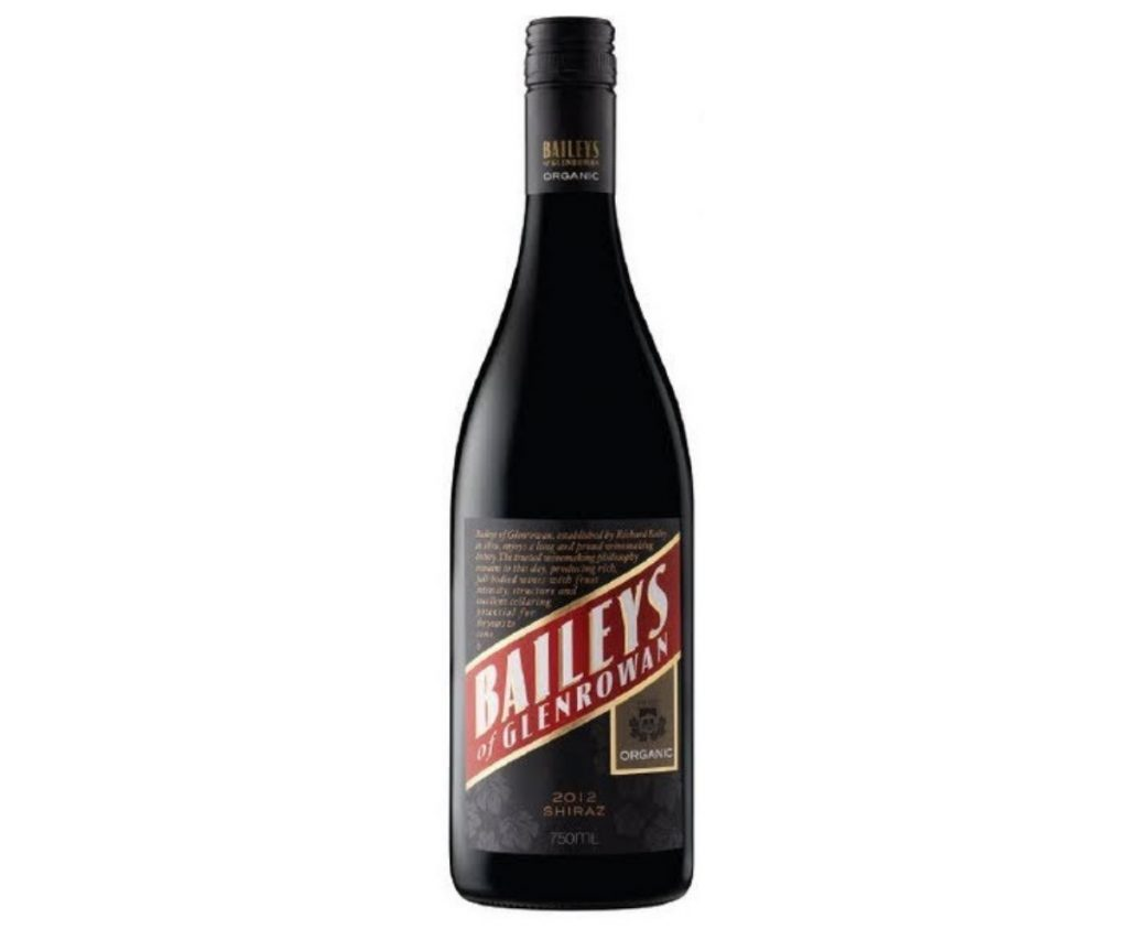Baileys of Glenrowan , Organic Shiraz 2012 Review