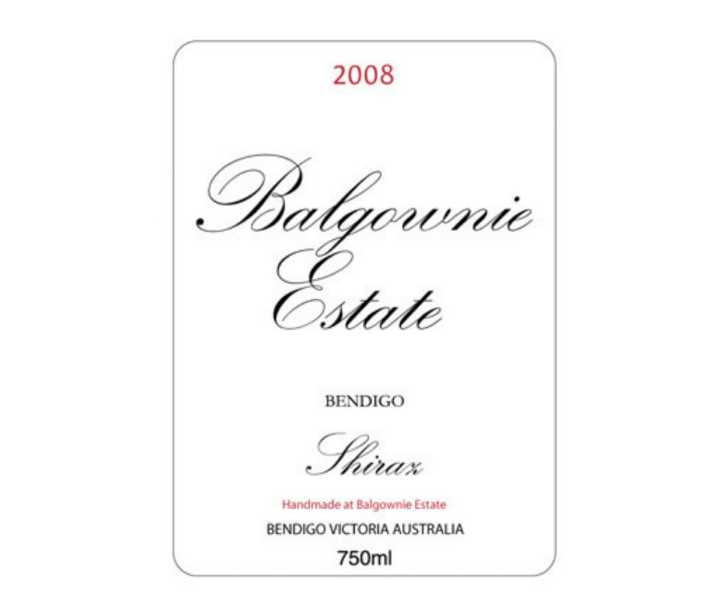 Balgownie Estate, Shiraz 2008 Review