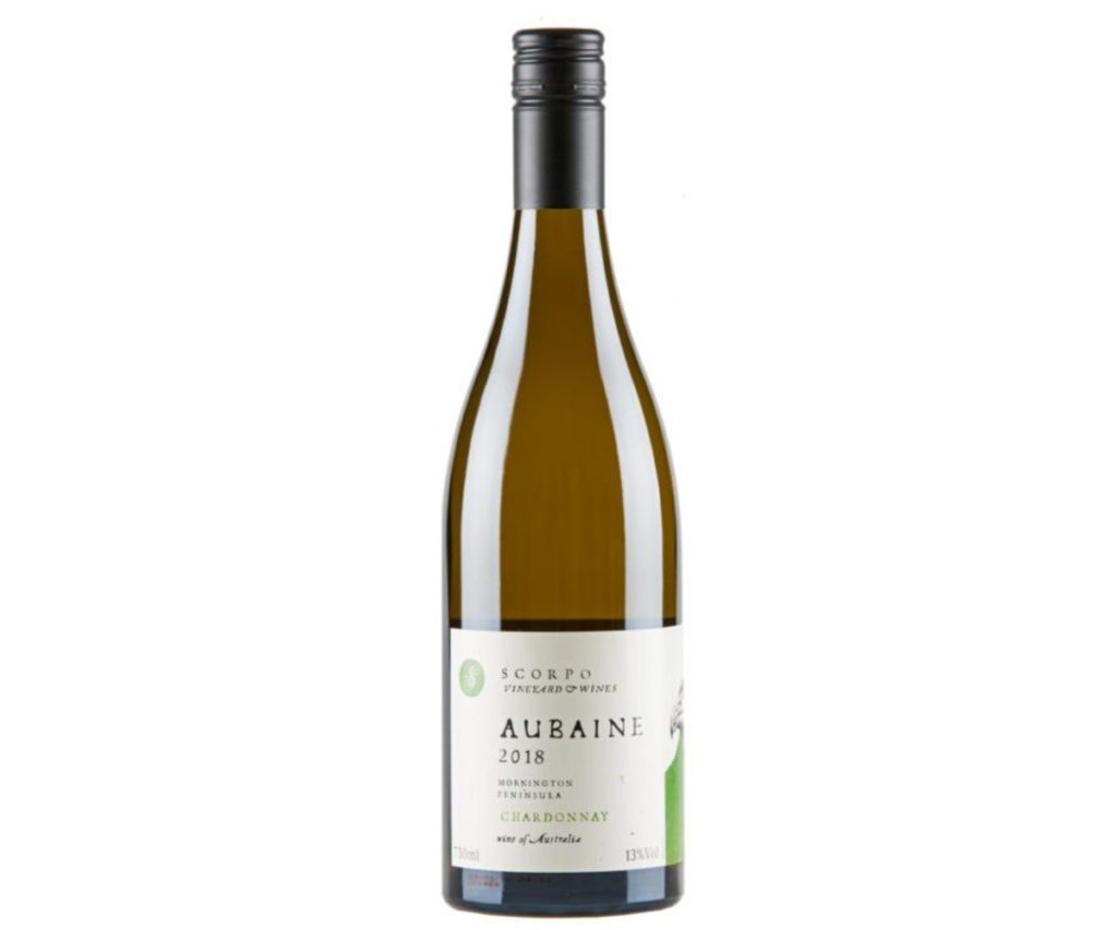 Travis Wine Review 2018 Scorpo Aubaine Chardonnay